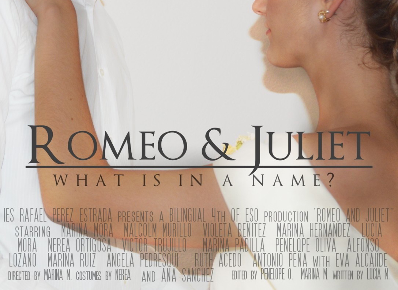 """""""Romeo y Julieta"""" versión clásica y moderna"""