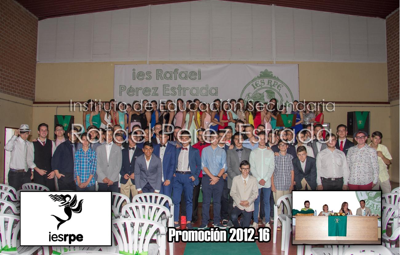 Graduación de la promoción  de ESO 2012-2016