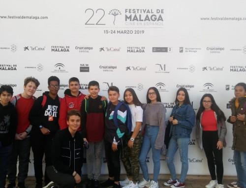 Alumnado del IESRPE visita el Festival de Cine de Málaga 2019