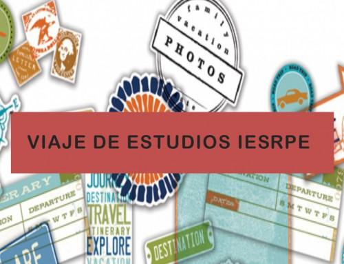 Viaje de estudios Italia 2019. Información a las familias