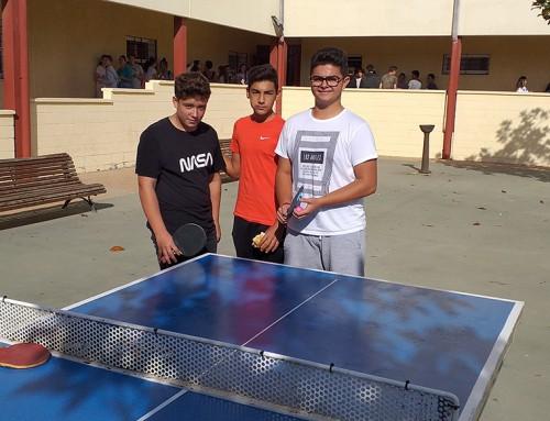 Estrenamos Mesas de Ping Pong