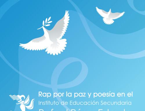 """Rap por la paz y poesía en el IES """"Rafael Pérez Estrada"""""""