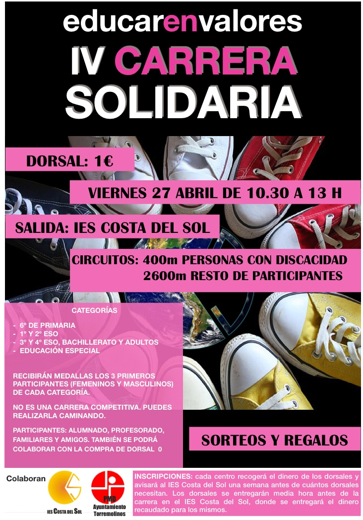 IV Carrera Solidaria IES COSTA DEL SOL